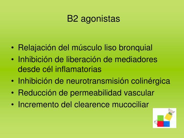 B2 agonistas