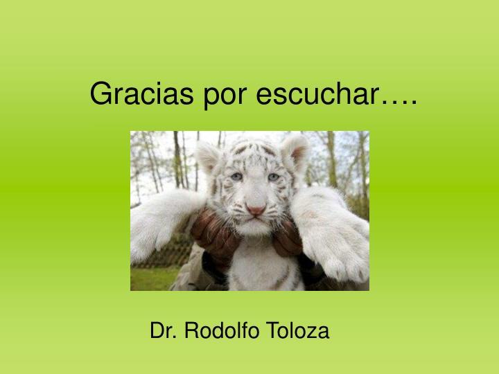 Dr. Rodolfo Toloza