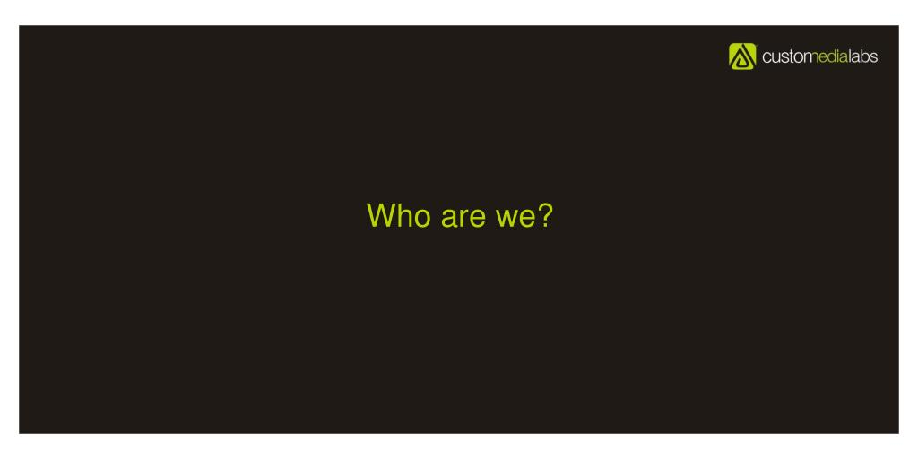 Who are we?