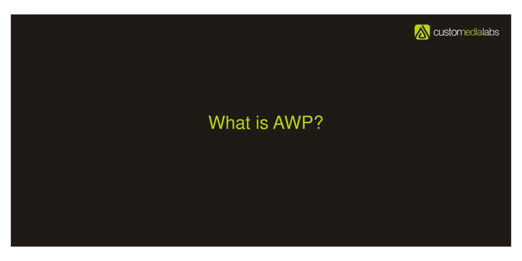 What is AWP?