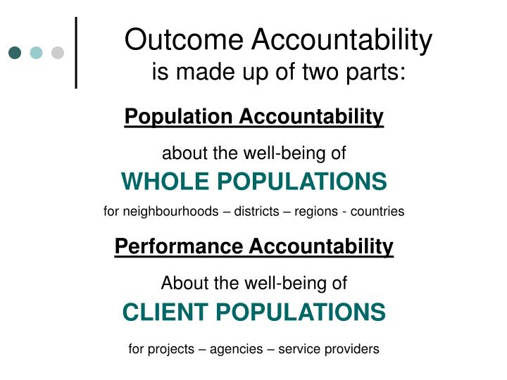 Outcome Accountability