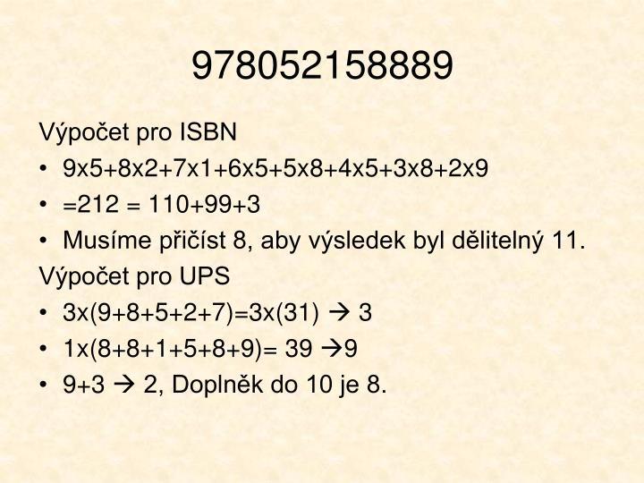 978052158889
