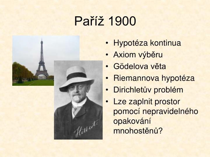 Paříž 1900
