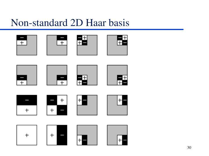Non-standard 2D Haar basis