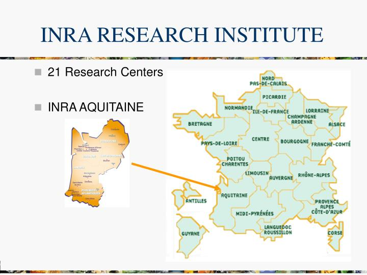 INRA RESEARCH INSTITUTE