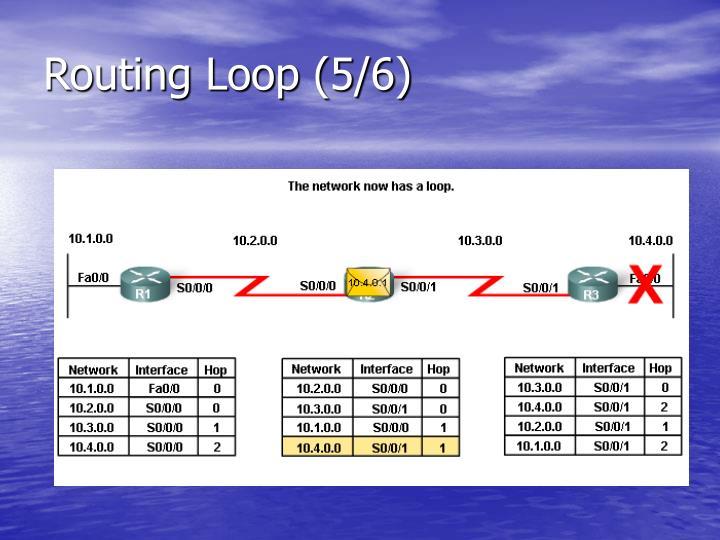 Routing Loop (5/6)