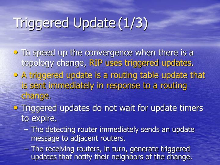 Triggered Update