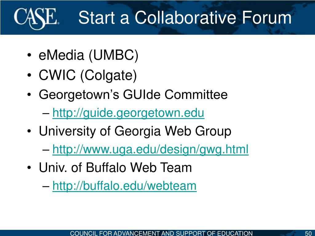 Start a Collaborative Forum