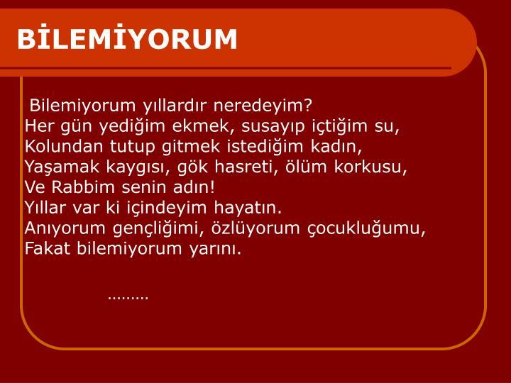 BLEMYORUM