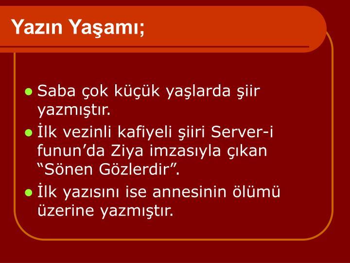 Yazn Yaam;