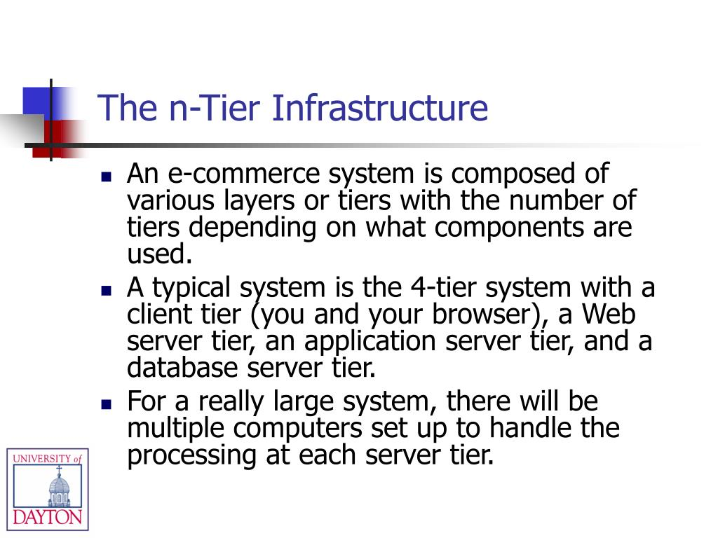 The n-Tier Infrastructure