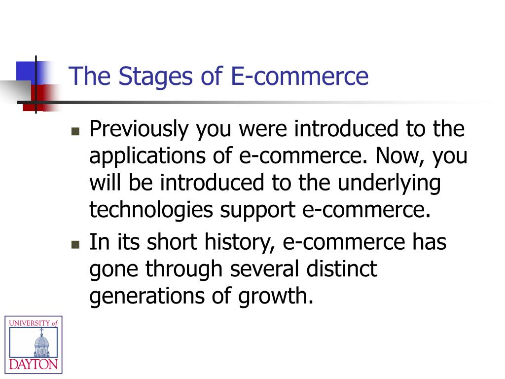 The Stages of E-commerce