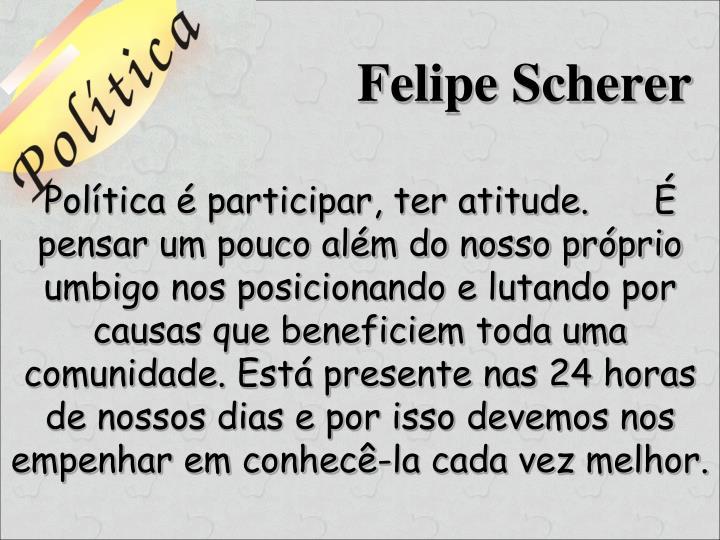 Felipe Scherer