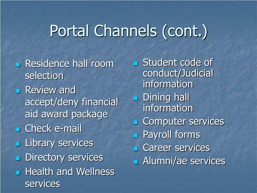 Residence hall room selection