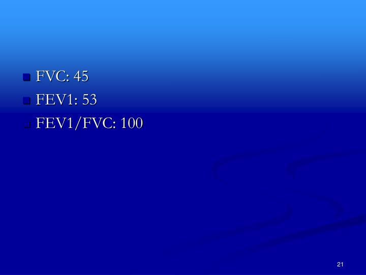FVC: 45