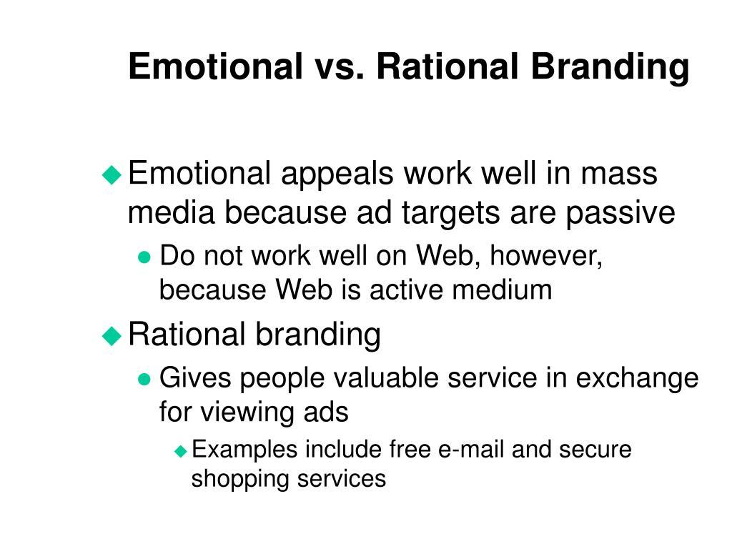 Emotional vs. Rational Branding