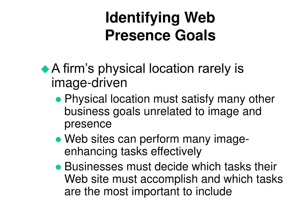 Identifying Web