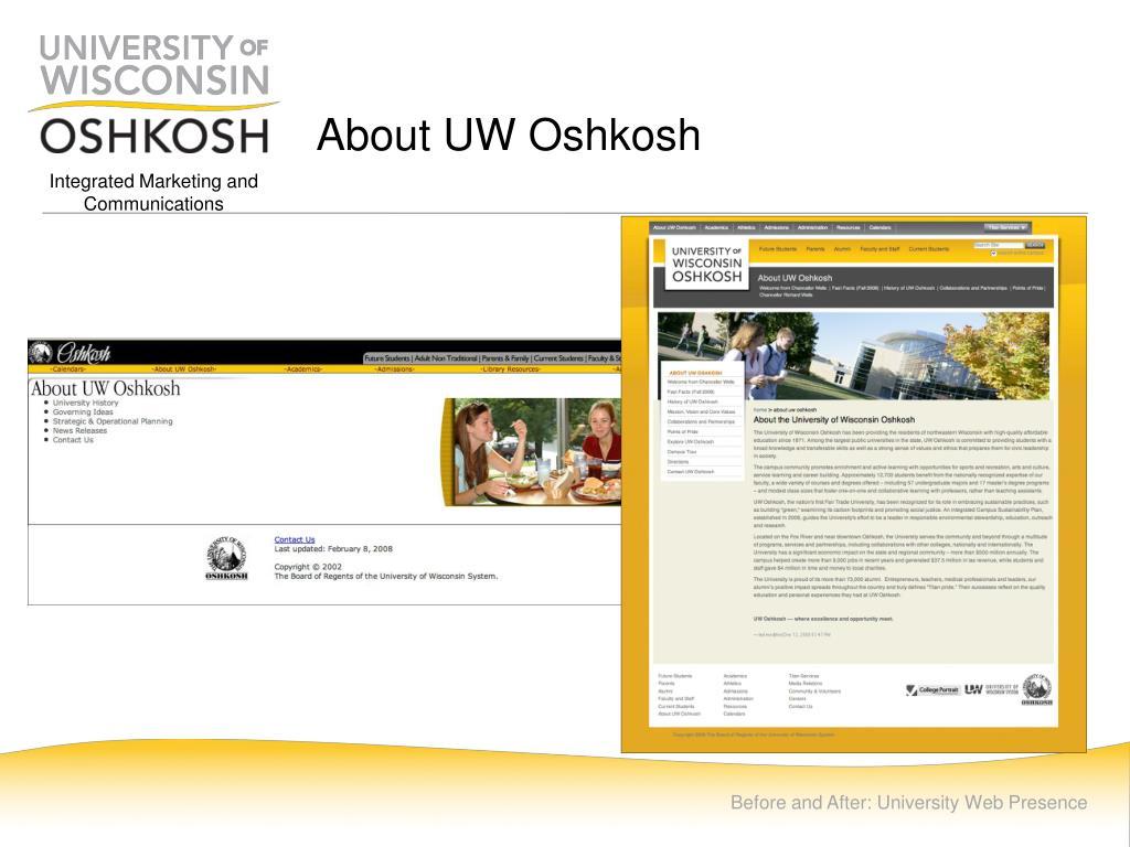 About UW Oshkosh