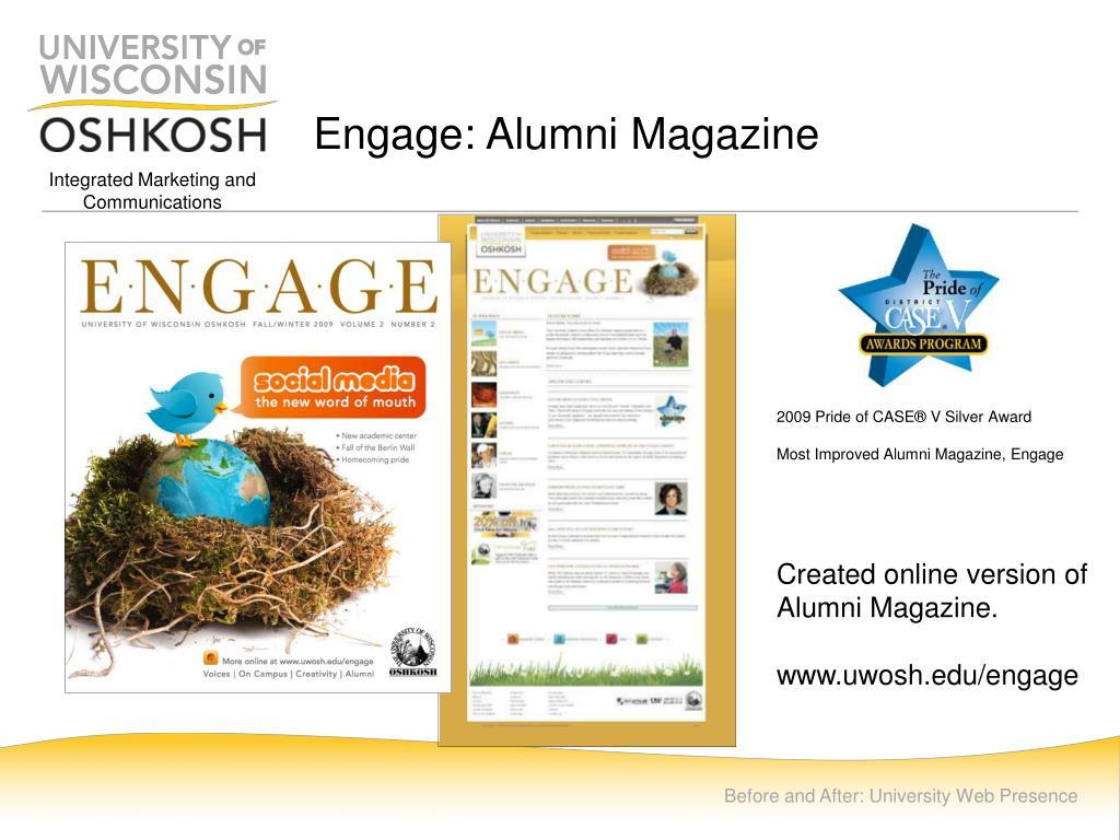Engage: Alumni Magazine