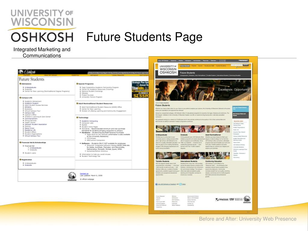 Future Students Page