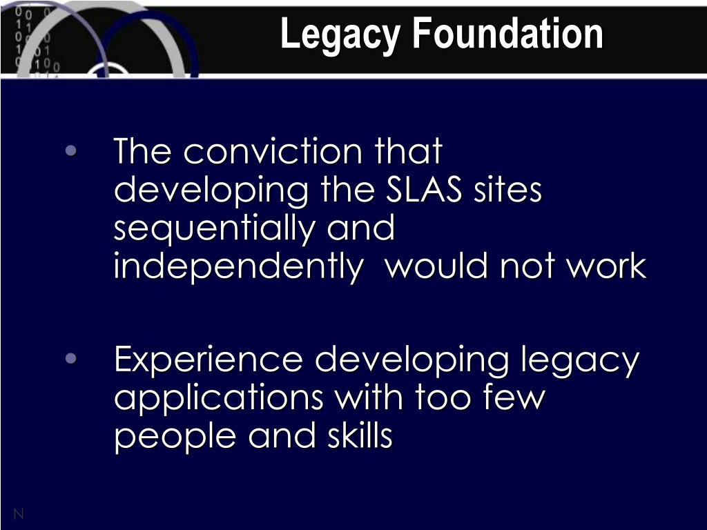 Legacy Foundation