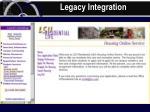 legacy integration61
