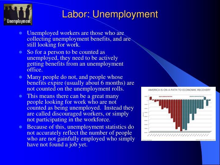 Labor: Unemployment