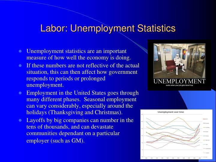 Labor: Unemployment Statistics