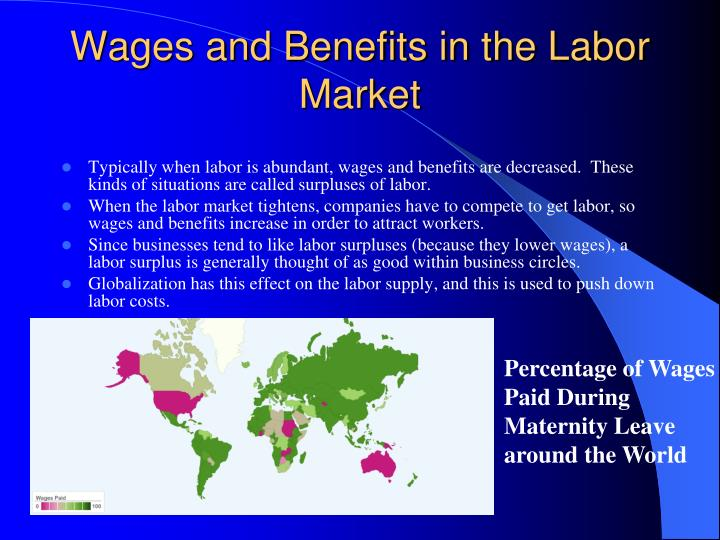 Wages and Benefits in the Labor Market