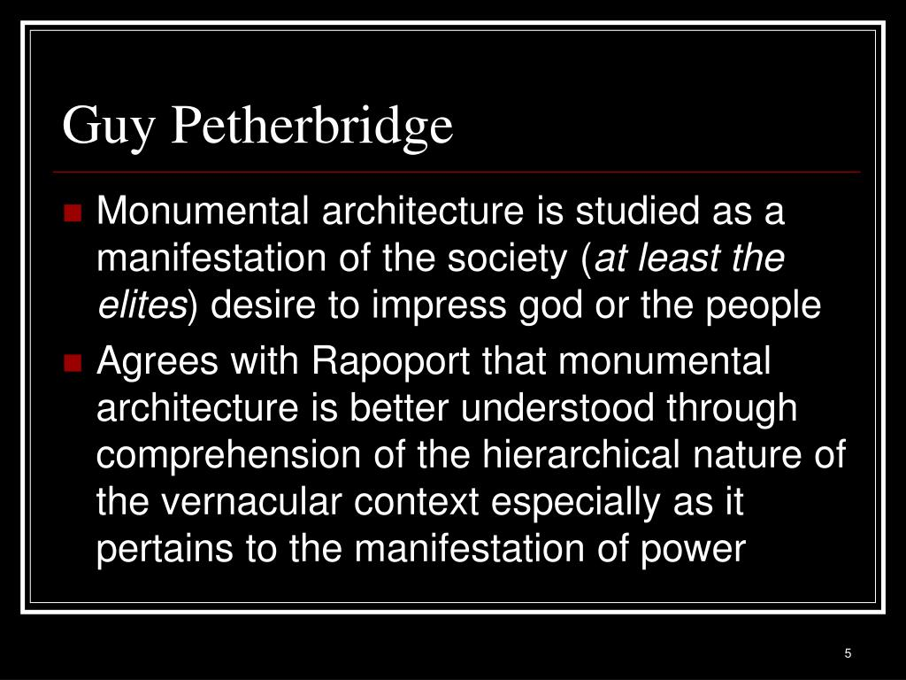 Guy Petherbridge