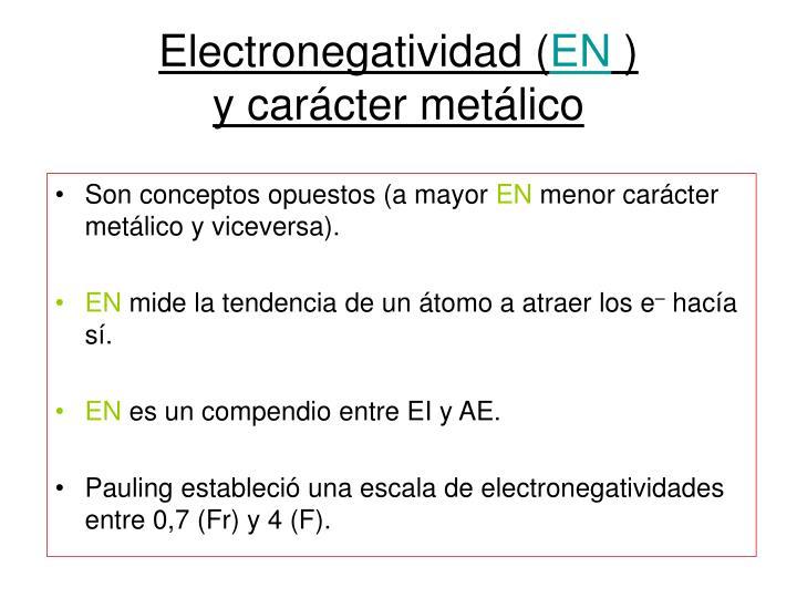 Electronegatividad (