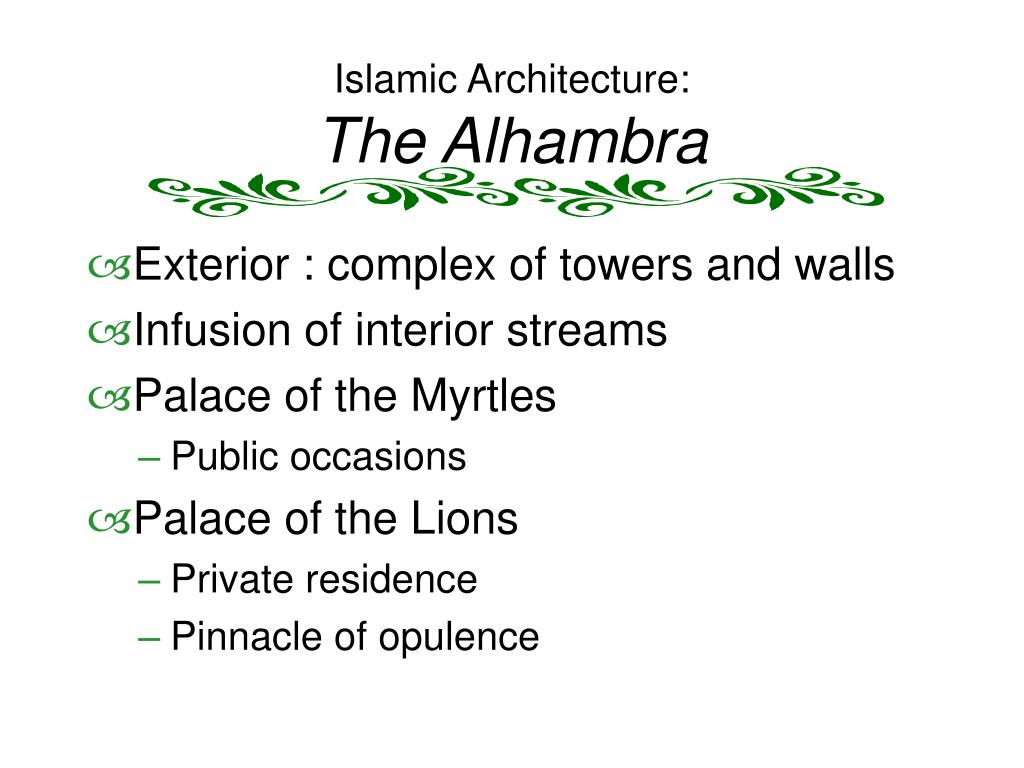 Islamic Architecture: