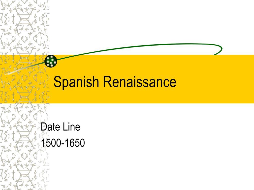 Spanish Renaissance