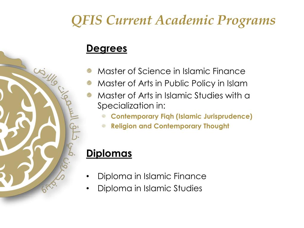 QFIS Current Academic Programs