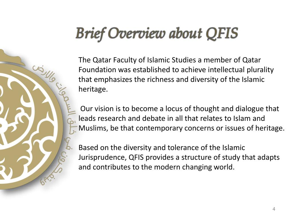 Brief Overview about QFIS