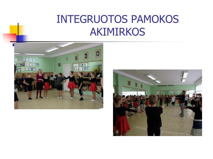INTEGRUOTOS PAMOKOS