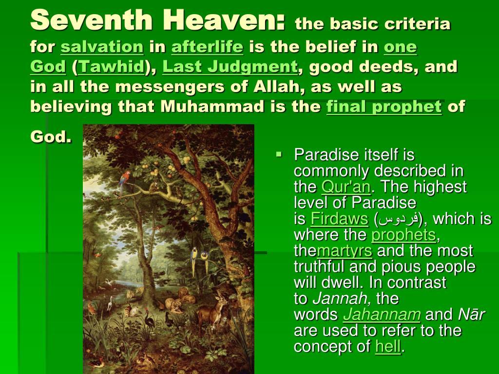 Seventh Heaven: