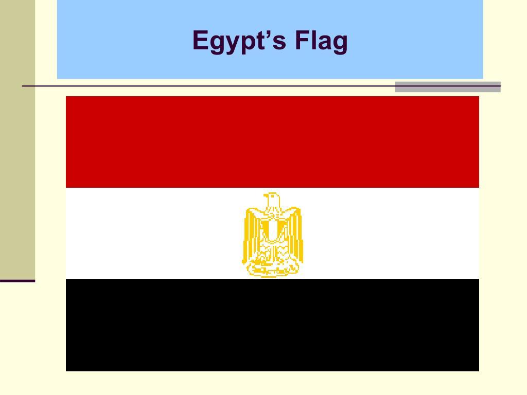 Egypt's Flag