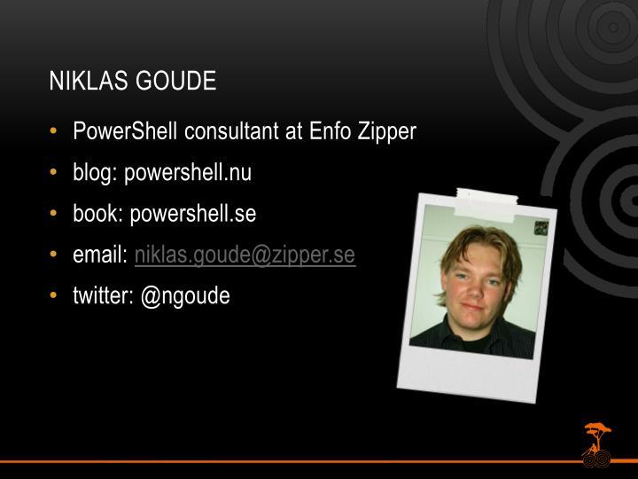 Niklas Goude
