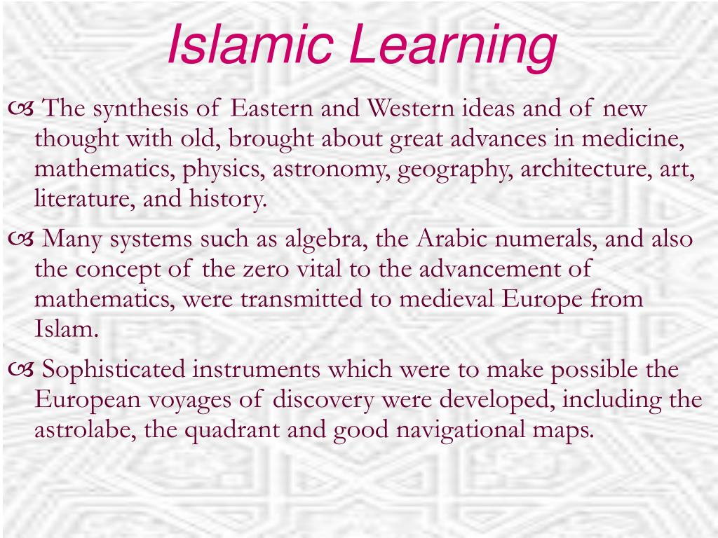 Islamic Learning
