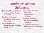 medieval islamic scientists
