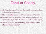 zakat or charity
