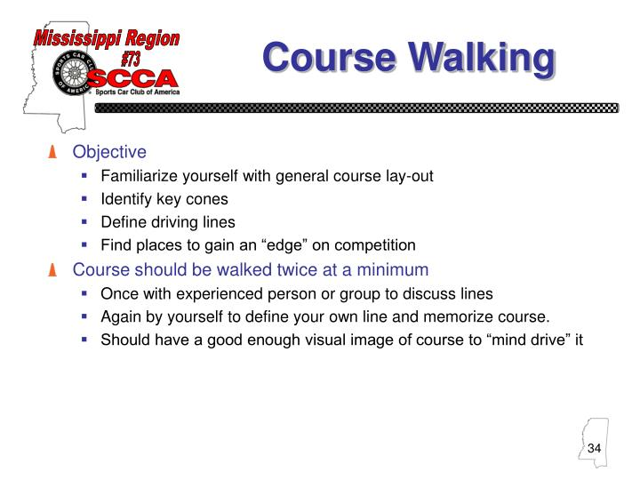 Course Walking