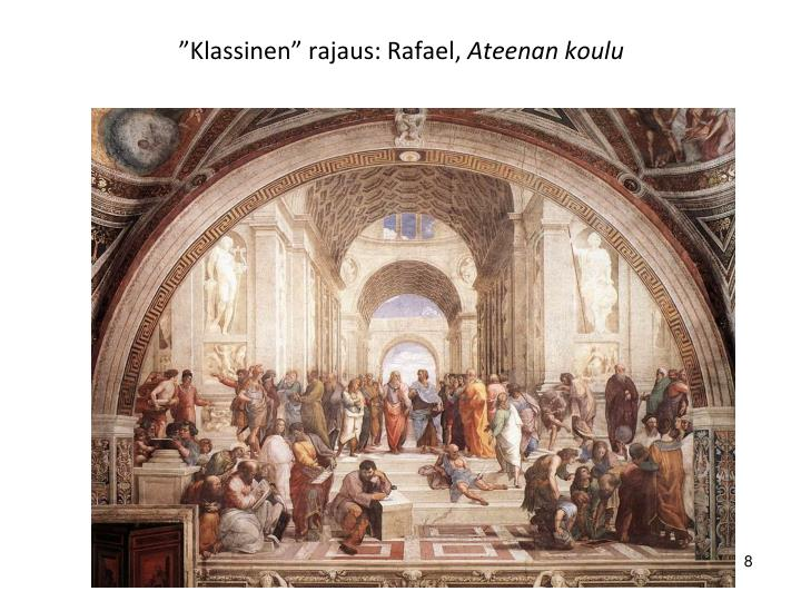 """Klassinen"" rajaus: Rafael,"