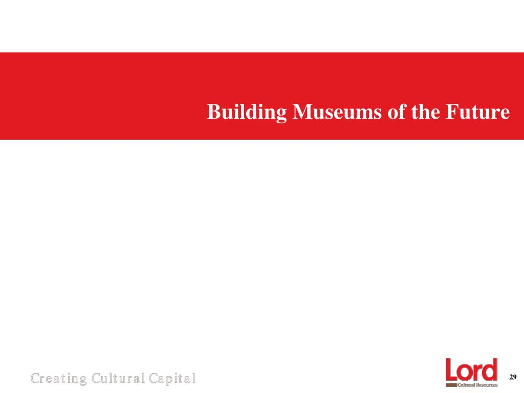 Building Museums of the Future