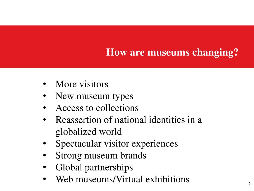 How are museums changing?