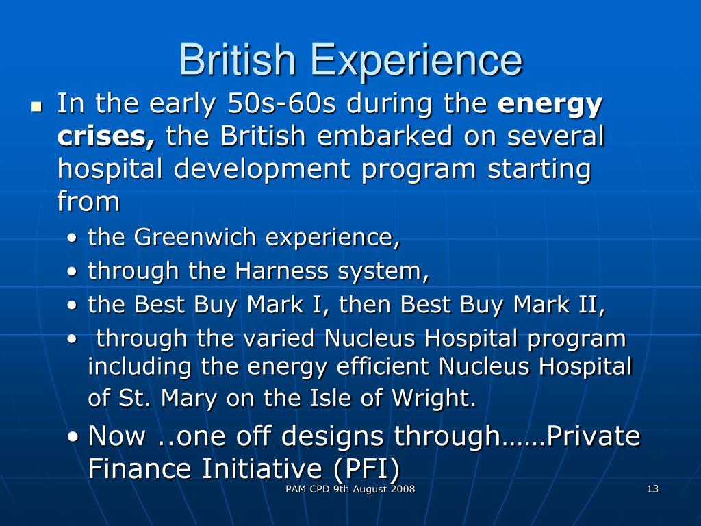 British Experience