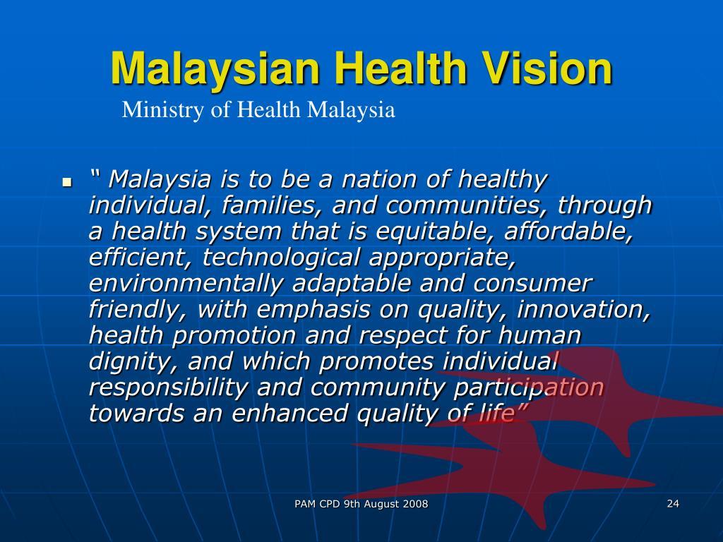 Malaysian Health Vision