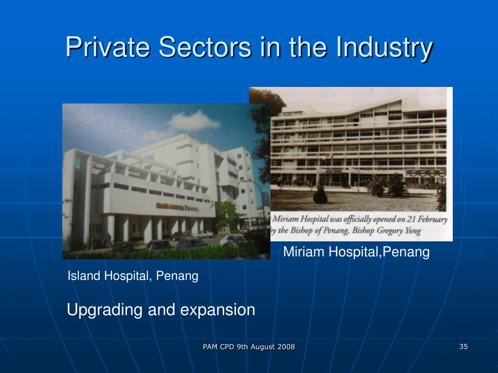 Private Sectors in the Industry