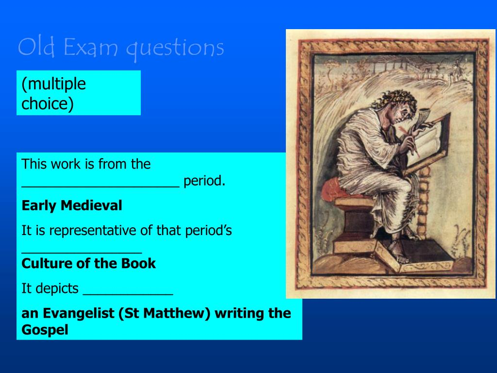 Old Exam questions
